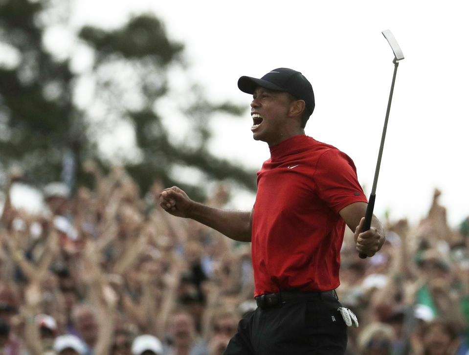 The Tiger Woods Effect: Failure, Resiliency And The Success Formula For Leaders