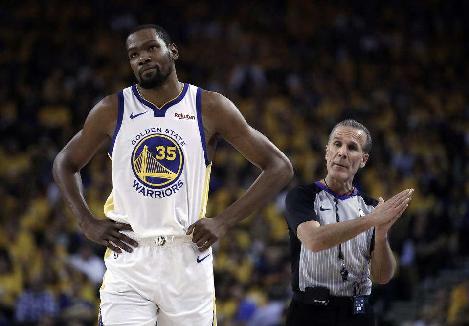 Kevin Durant On If The Warriors Are Better Without Him: 'That's Not True'