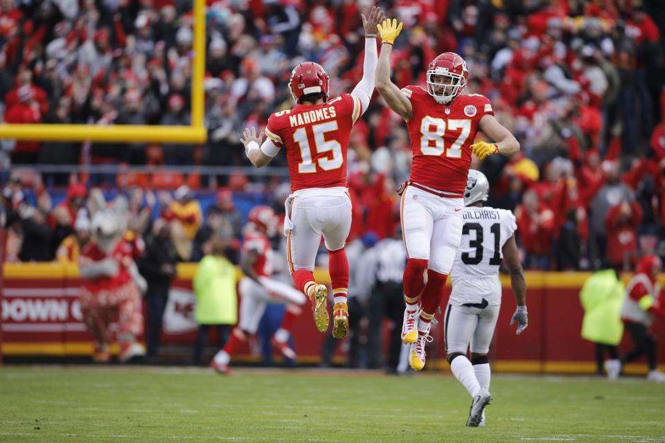 Patrick Mahomes And Travis Kelce Looking To Be Faces Of AFC