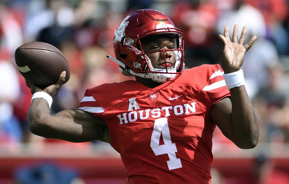 Houston Quarterback D'Eriq King Is Close To Full Strength, Which Is Great News For The Cougars