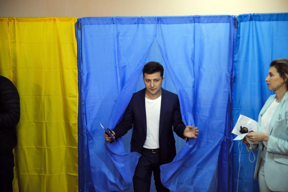 Zelenskiy's Victory: Uncertainty As Ukraine Seeks A New Break With Its Past