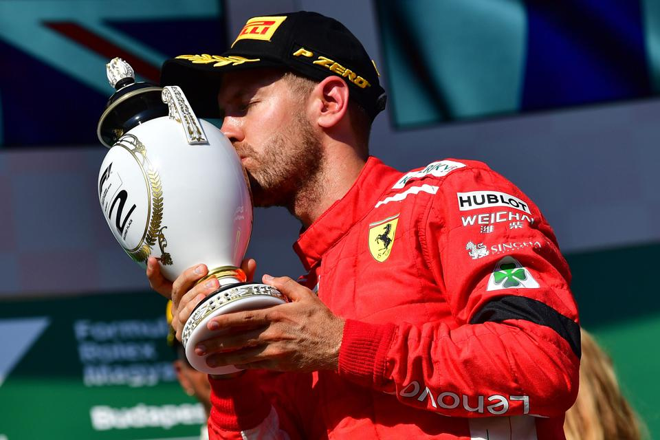 Ferrari's Sebastian Vettel Is F1's Top Prize Money Winner With $500 Million Haul