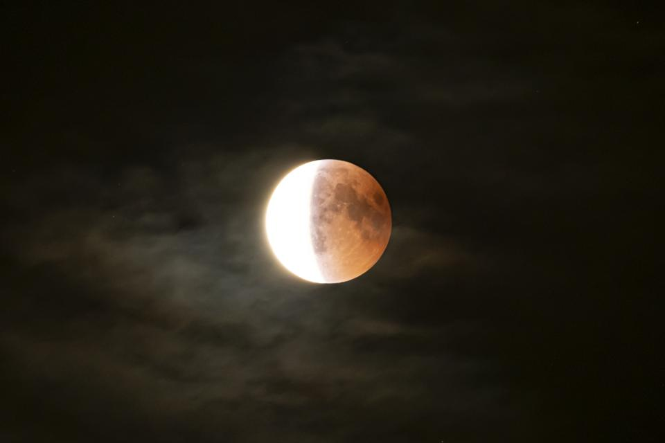 Exactly When And Where To See And Stream Tonight's 'Half-Blood Moon Eclipse' In Apollo 11 Week