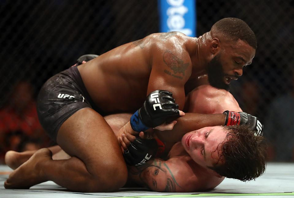 UFC 235 Full Fight Video: Watch Tyron Woodley Submit Darren Till