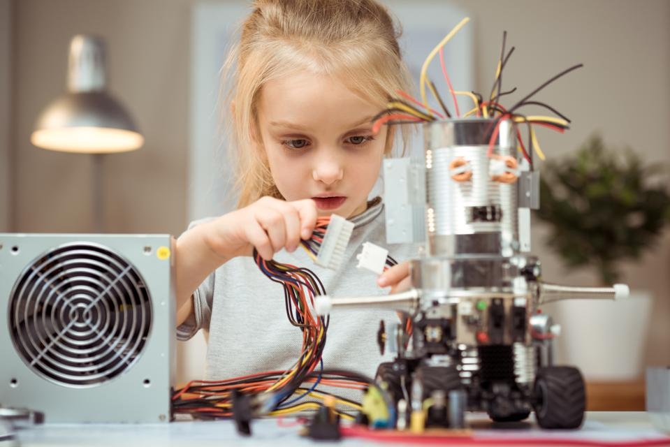 How To Get Young Girls Excited About A Career In STEM