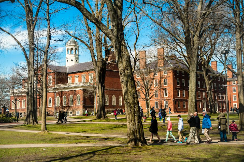 Boys Will Be Boys -- Except At Harvard