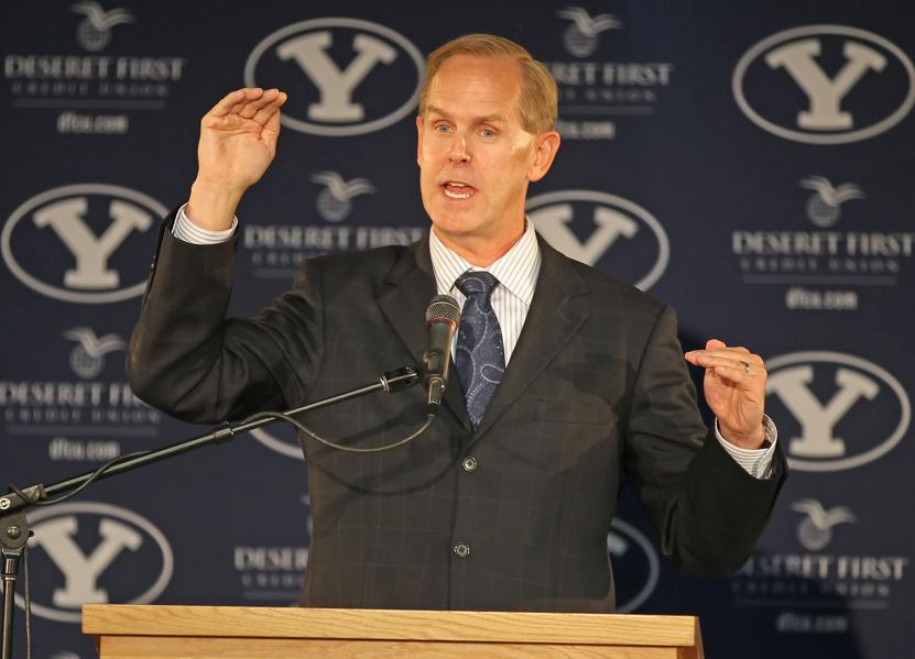 BYU Football Media Day Features A Lot Of Optimism, Not Much News