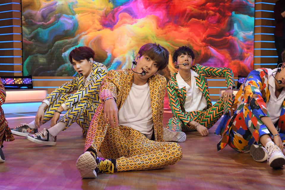 Here's How BTS Made History In 2018 On The U.S Singles Chart