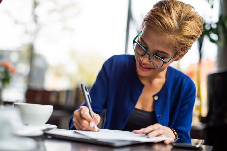 Write Your Professional Goals Into Reality
