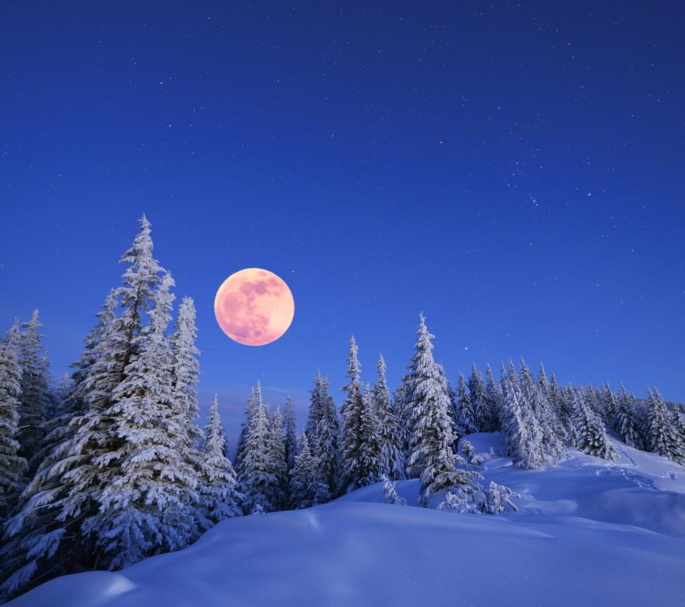 Don't Miss Tonight's Winter Solstice Display: A Full Moon And A Meteor Shower