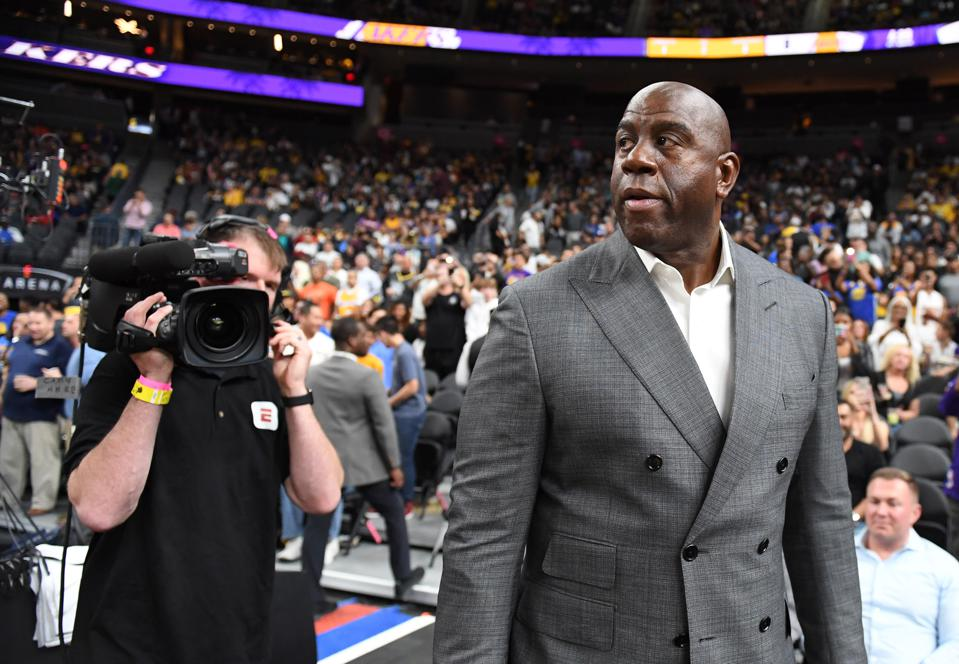 The Lakers Are Quitting And You Can Blame Magic For This Disaster
