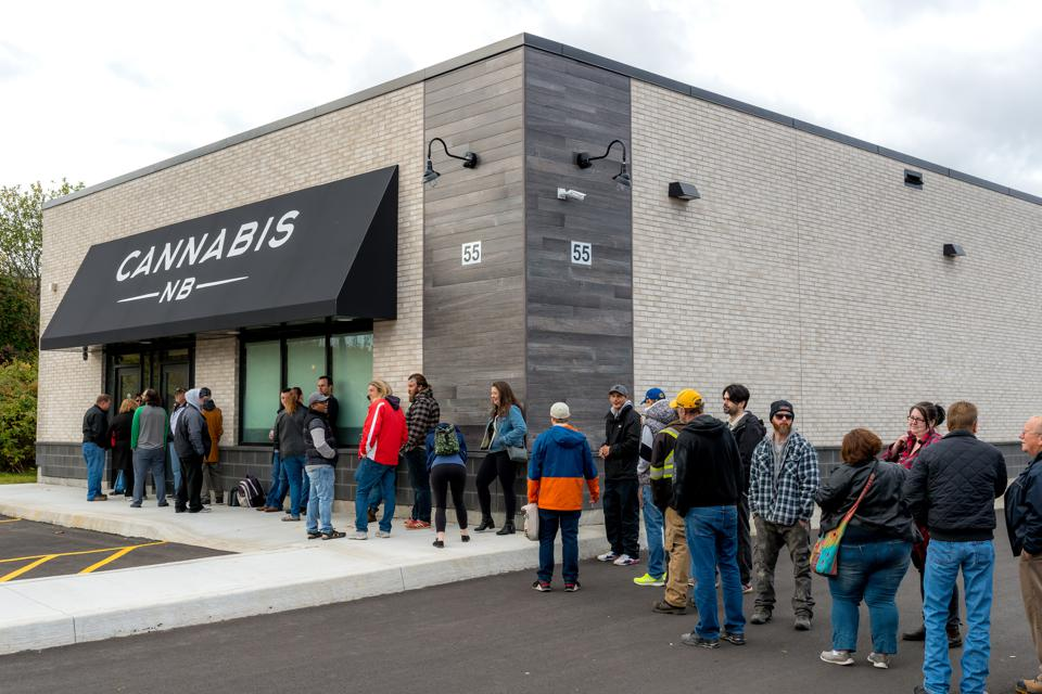 No Labels: Cannabis Branding Is No-Go In Canada