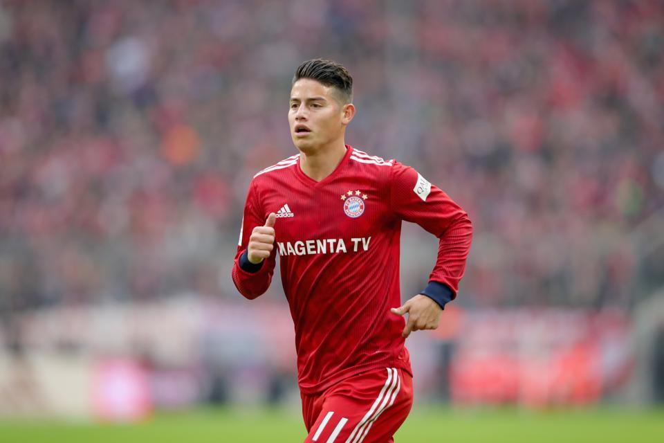 Bayern Munich's James Rodríguez Dilemma
