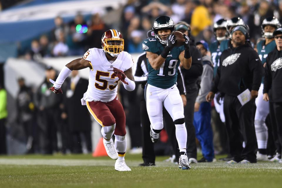 Win Over Fading Redskins Keeps 6-6 Eagles Alive In NFC Playoff Race