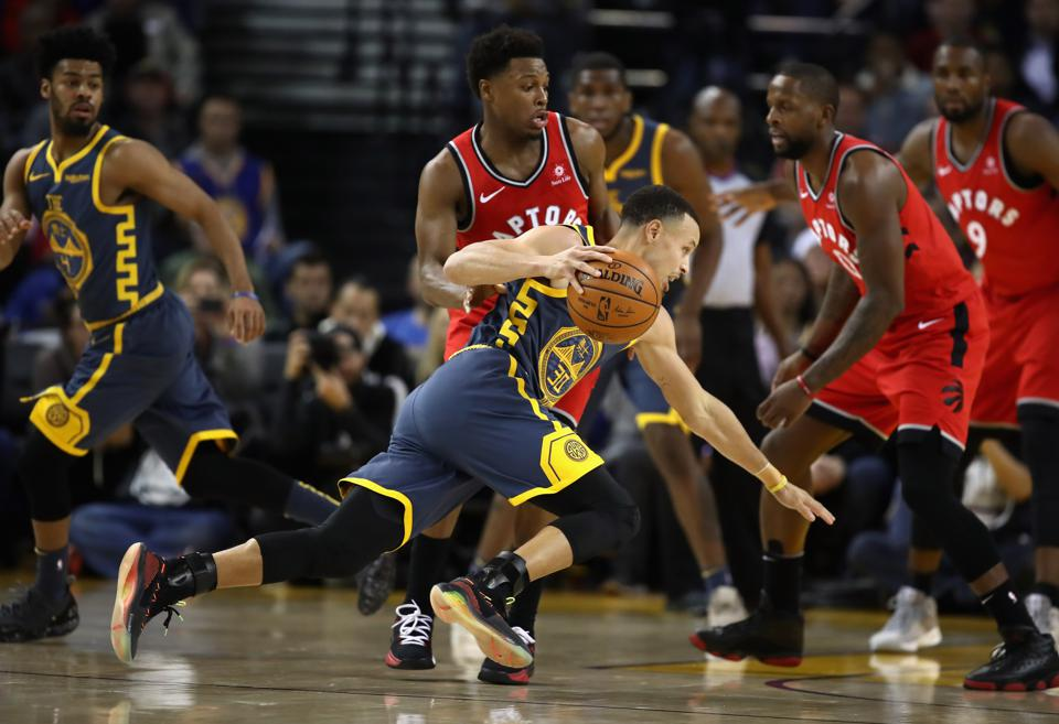 The Toronto Raptors Have Caught The Golden State Warriors' Attention