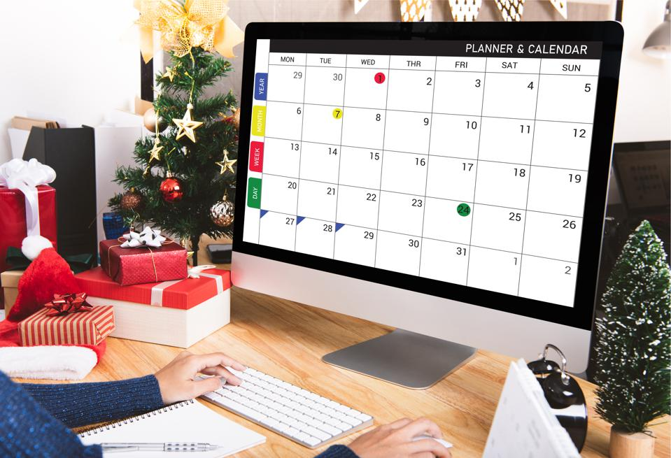 Why Everybody Should Spend 15 Minutes A Day Planning Their Calendar