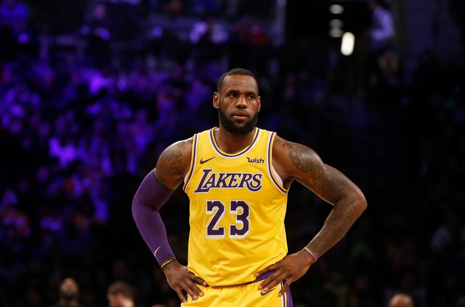 LeBron And The Lakers Battle More Than The Warriors On Christmas Night