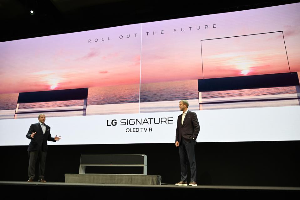 The Best TVs Of CES 2019: From 8K To Rollable OLED Display And Micro LED Technology