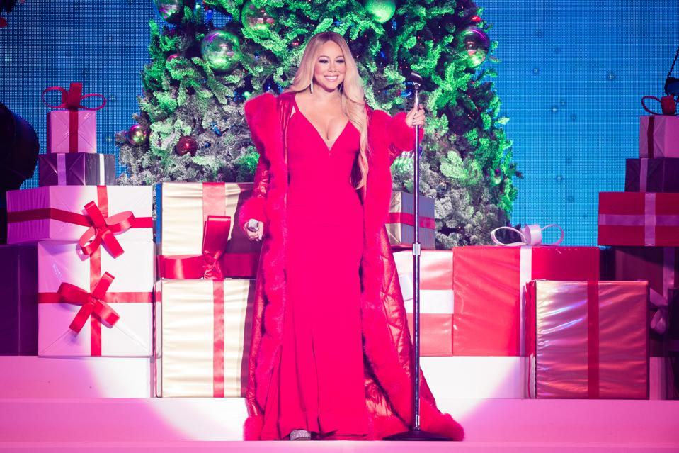 Mariah Carey's 'All I Want For Christmas Is You' Hits A New High Almost 25 Years After Its Release
