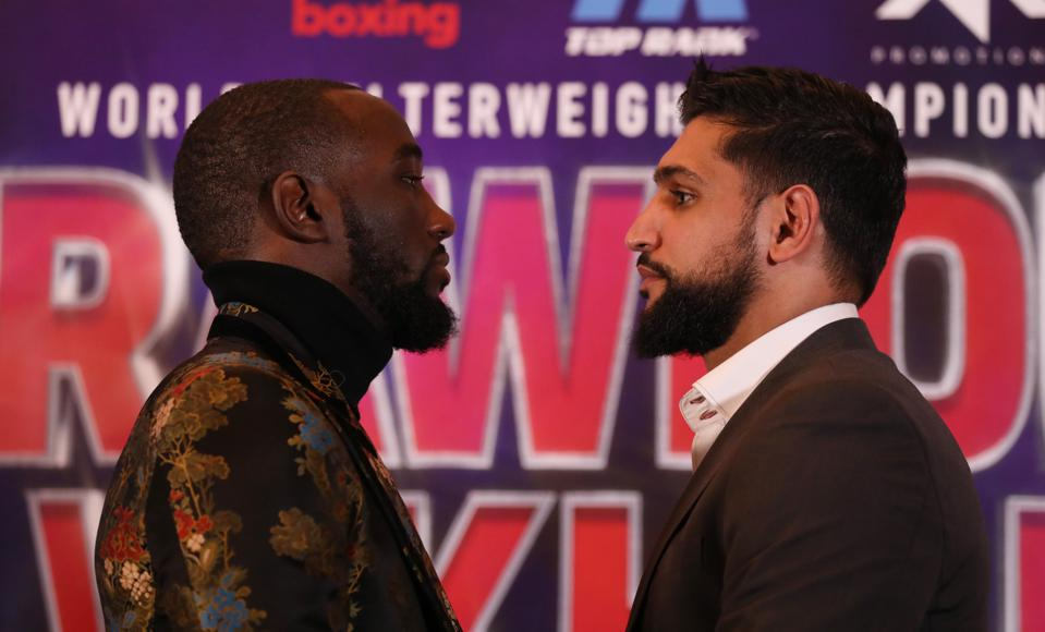 Terence Crawford Vs. Amir Khan Live Results, Purses, Odds