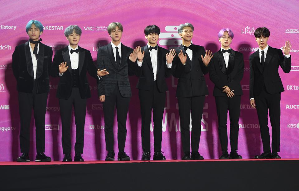 BTS Scores The Highest-Charting K-Pop Hit By A Group In U.K. History
