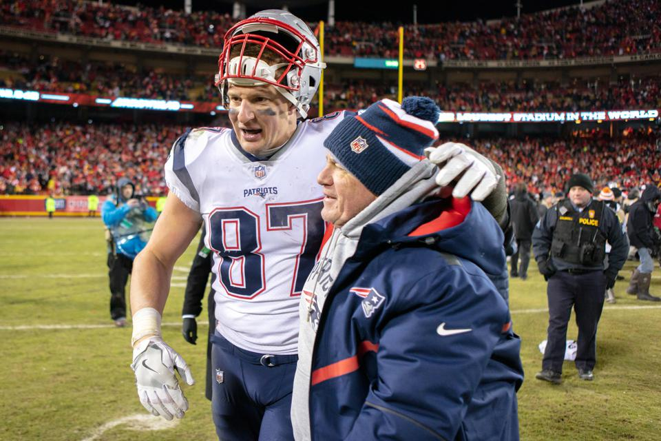 Patriots Are Again Super Bowl Bound -- And Rob Gronkowski Is No Small Part In Why