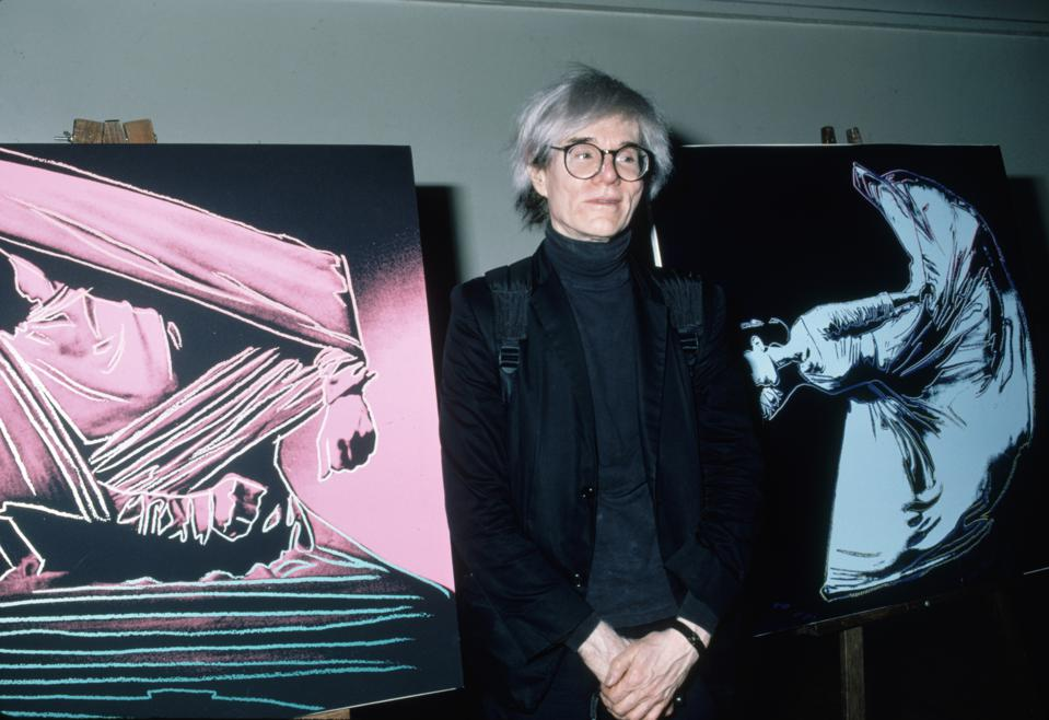 Andy Warhol Art Sale Bitcoin Blockchain Cryptocurrency Ethereum