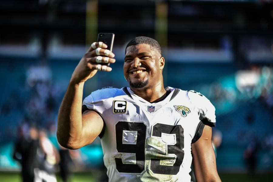 399386bd Jaguars' Calais Campbell Heading To The Pro Bowl