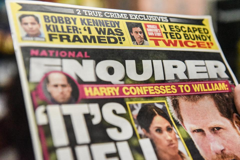Will Bezos Dust-Up Cause Trouble For National Enquirer's Publisher?