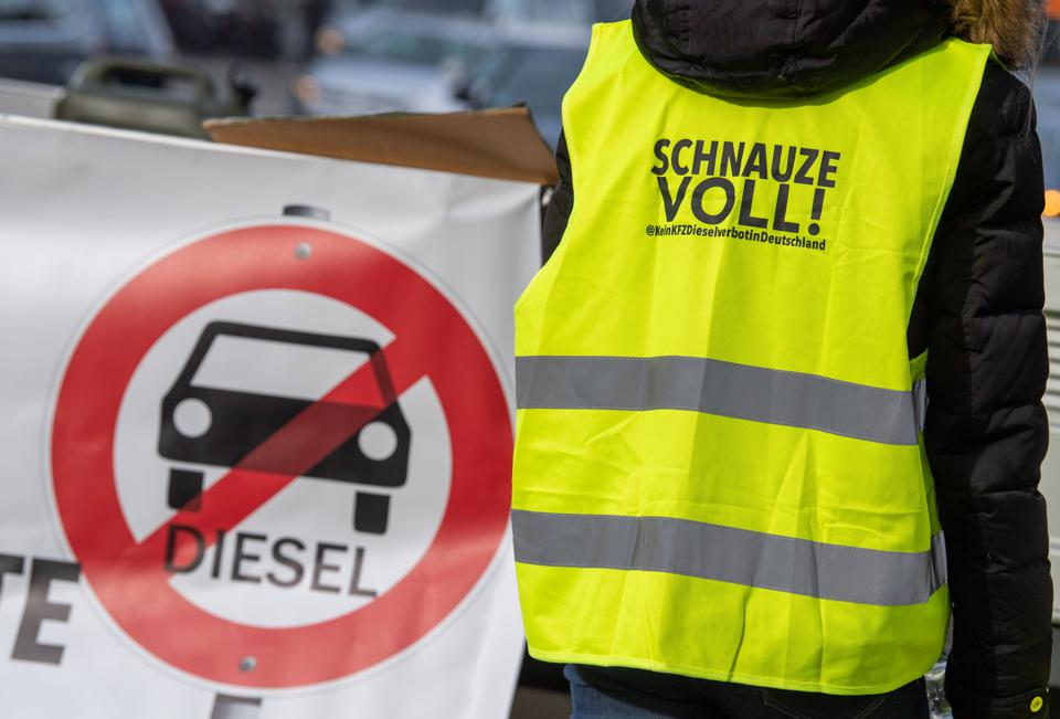 The EU Has Given Germany The Green Light To Block City Diesel Bans
