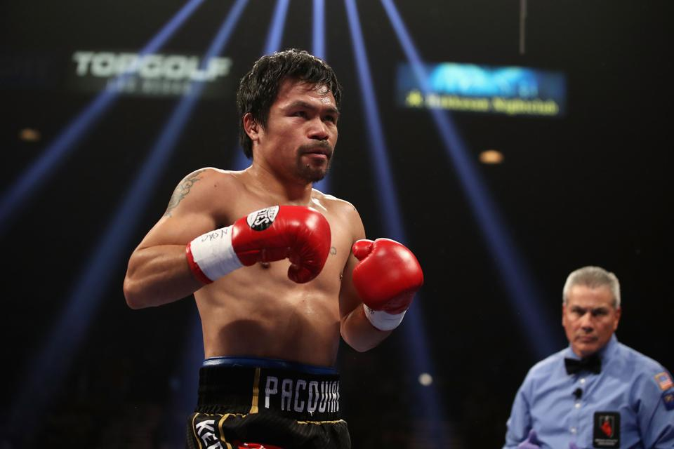 Why Manny Pacquiao Is Waiting To Announce His Next Opponent And Why It's Probably Not Keith Thurman