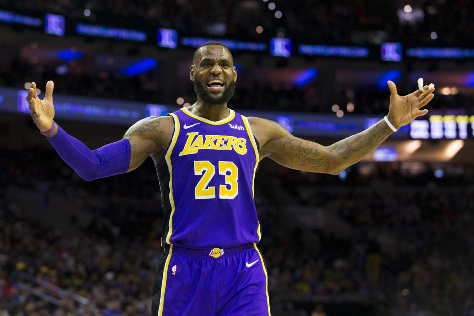 Not Even LeBron James Can Salvage This Lakers Disaster