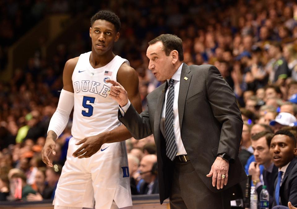 Knicks Coach David Fizdale Invites Duke's Coach K To Training Camp