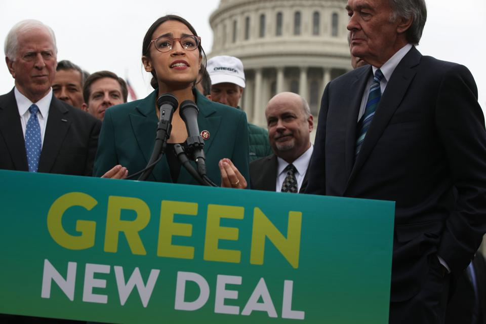 Why We Can't Afford A Green New Deal: We Keep Spending The Money