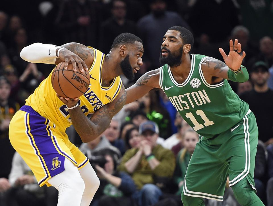 Kyrie Irving, LeBron James And The Lakers' Shrinking Glimmer Of Hope