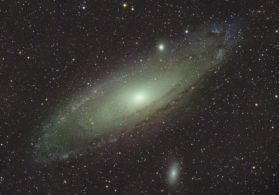 Why Is The Andromeda Galaxy Moving Towards Us If The Universe Is Expanding?
