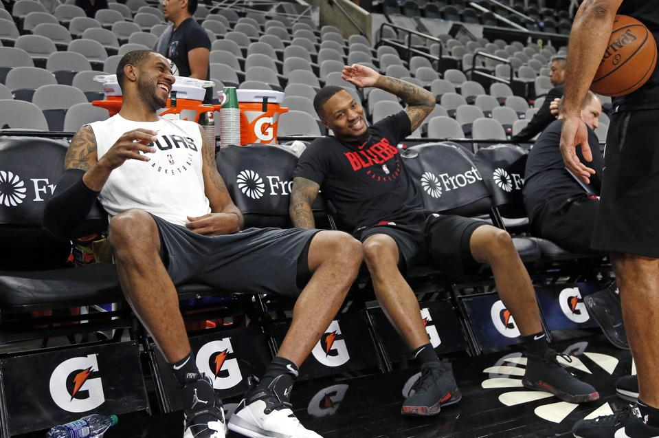 Without LaMarcus Aldridge's Rift With Damian Lillard, Where Would Spurs Be Today?