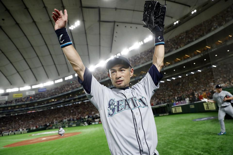 Hit No. 3,000 For Ichiro Came At Coors Field Off Rockies Reliever Chris Rusin