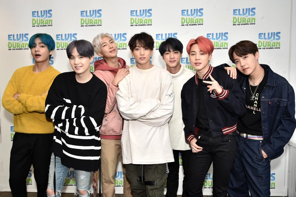 BTS Score Their Third No. 1 Album In The U.S. With 'Map Of The Soul: Persona'