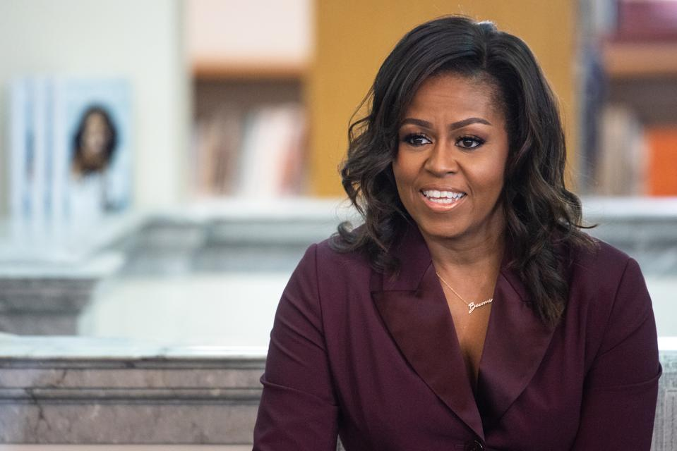 Michelle Obama's Biography, 'Becoming,' Could Set Genre Record