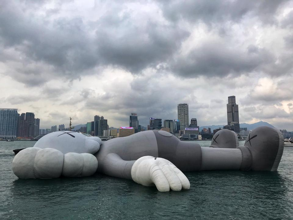 From A Decadent LACMA X UCCA Party To A $14.8 Million Kaws: The Highlights Of Hong Kong Art Week