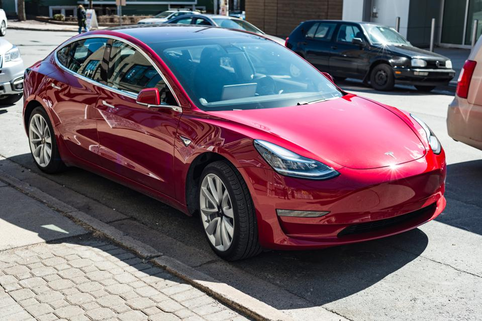 Car Sales In Europe Slide, But Tesla Model 3 Debuts With A Smash