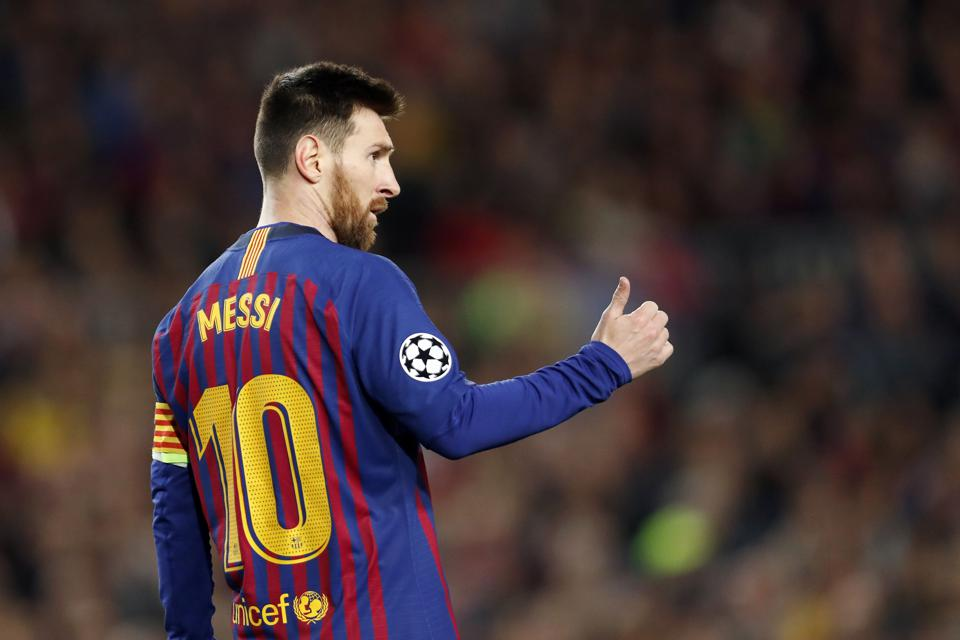 The World's Highest-Paid Soccer Players 2019: Messi, Ronaldo And Neymar Dominate The Sporting World