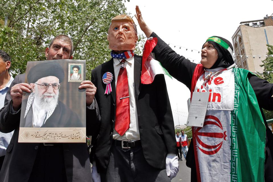 Iran Warns U.S. Is 'Playing With Fire' And Risks 'Triggering War By Mistake'