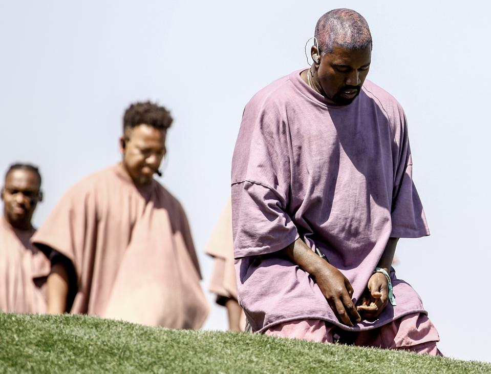 """Kanye West And The Economic Theory That Explains His Coachella """"Church Clothes"""" Pricing Controversy"""