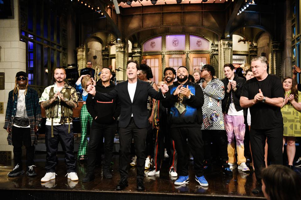 DJ Khaled Honors Nipsey Hussle, Features Lil Wayne, SZA, John Legend And More For 'SNL' Debut