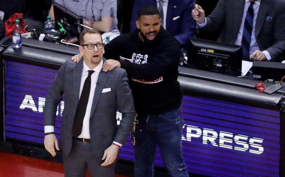 Are Drake's Antics Good Or Bad For The Toronto Raptors Brand?