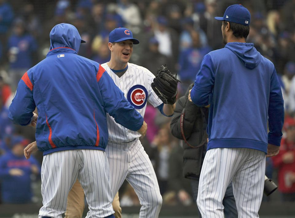 Jon Lester And Kyle Hendricks Are Driving The Cubs' Success