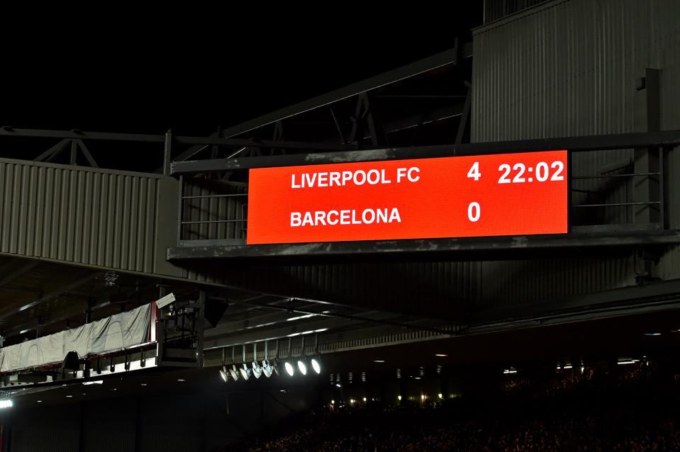 3 Unlikely Heroes Among Many, Made 4-0 Win Over Barcelona Liverpool's Greatest Ever Performance