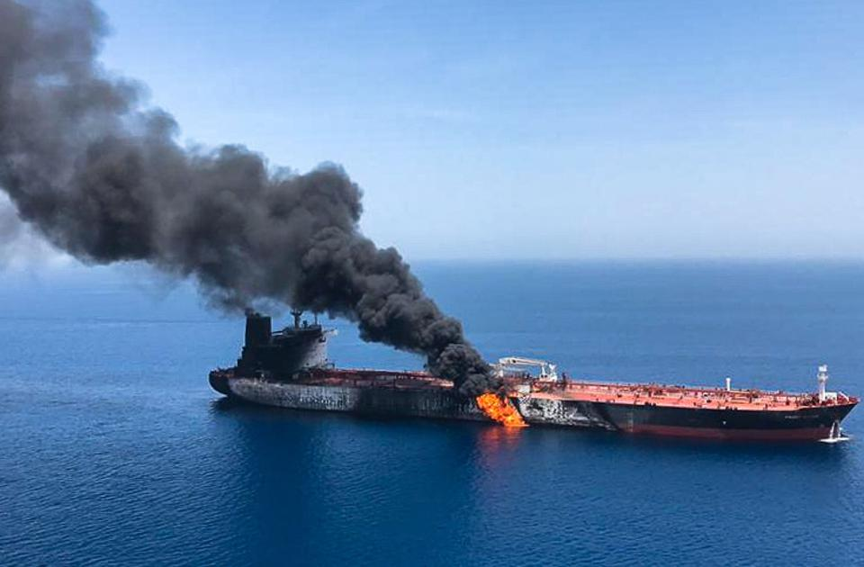 U.S. Blames Iran For Tanker Attacks As Saudi Arabia Threatens 'Grave Consequences' (Updated)